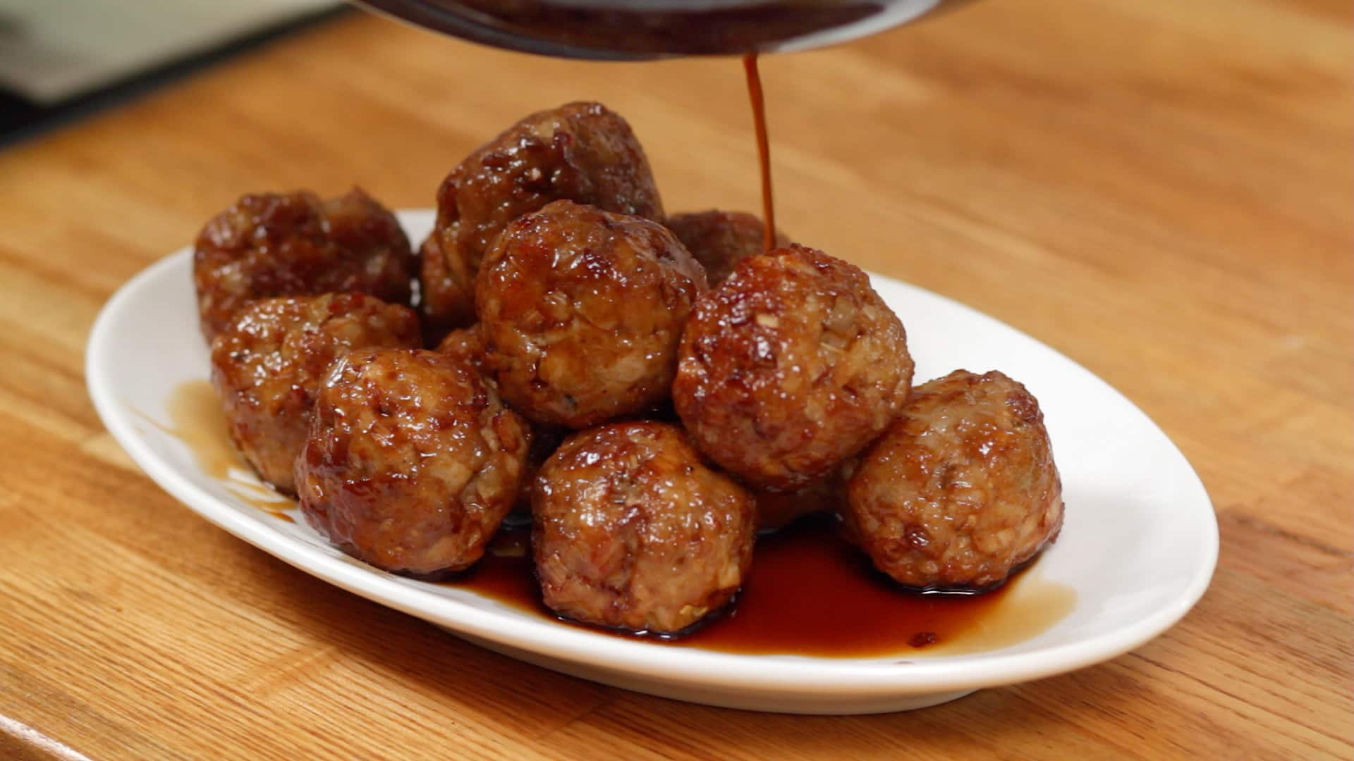 With meatball sandwiches, I generally serve a salad, relish or salsa to go with the meatballs: Chopped Greek salad for Greek meatballs (obviously), a simple coleslaw for Buffalo meatballs or baked meatballs with honey mustard, green salad for tomato cheese meatball subs, a fruity black bean salsa to go with BBQ meatball sliders.