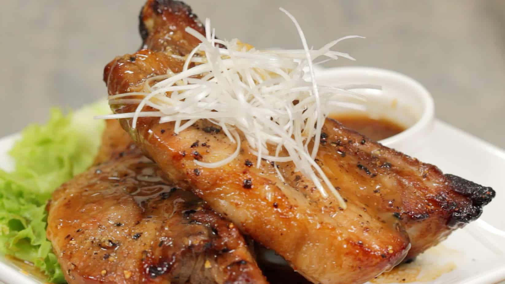 Spicy Spare Ribs with Black Vinegar and Honey Recipe ...