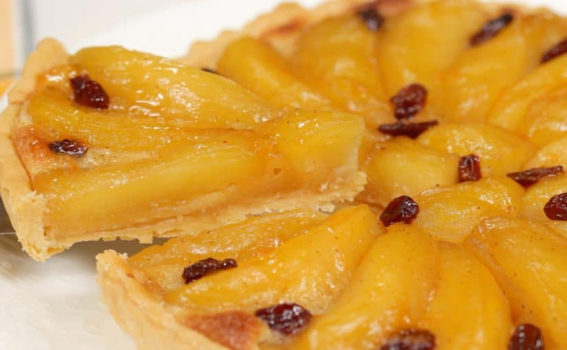 Apple Tart with Almond Cream Recipe