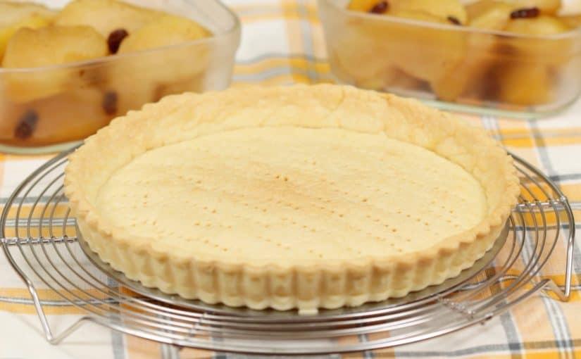 サクサクのタルトクラストの作り方 バターが香るタルト生地のレシピ