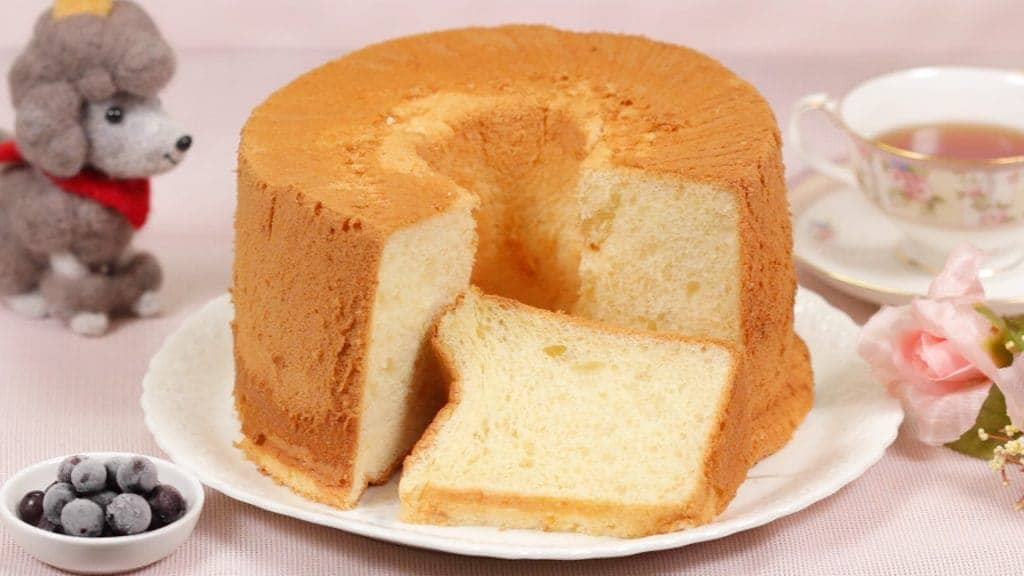 Chiffon Cake With  Ingredients Recipe