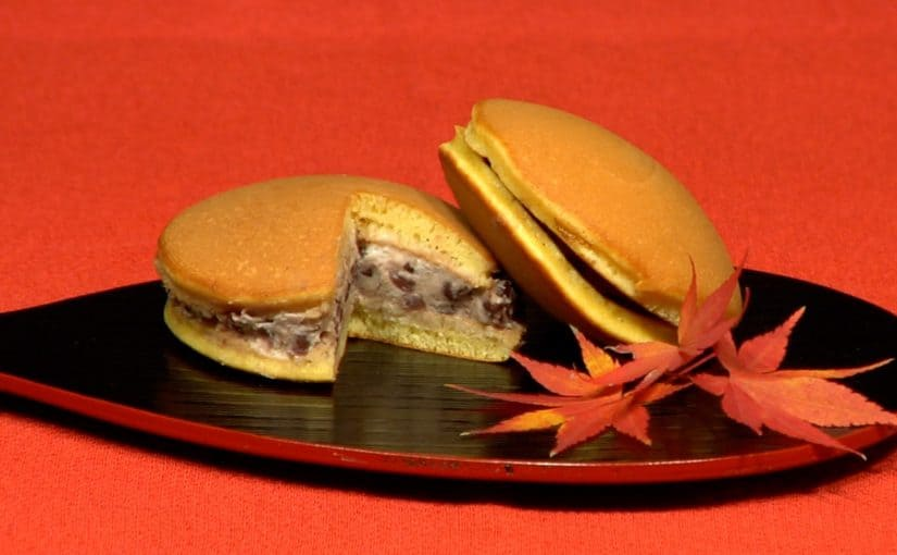 Dorayaki (Pancakes with Red Bean Paste Recipe)