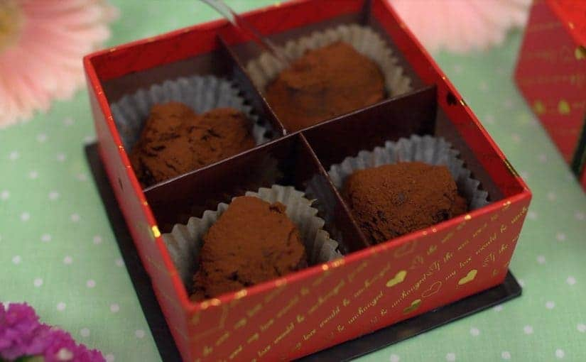 Valentine's Nama Chocolate (Ganache Recipe)