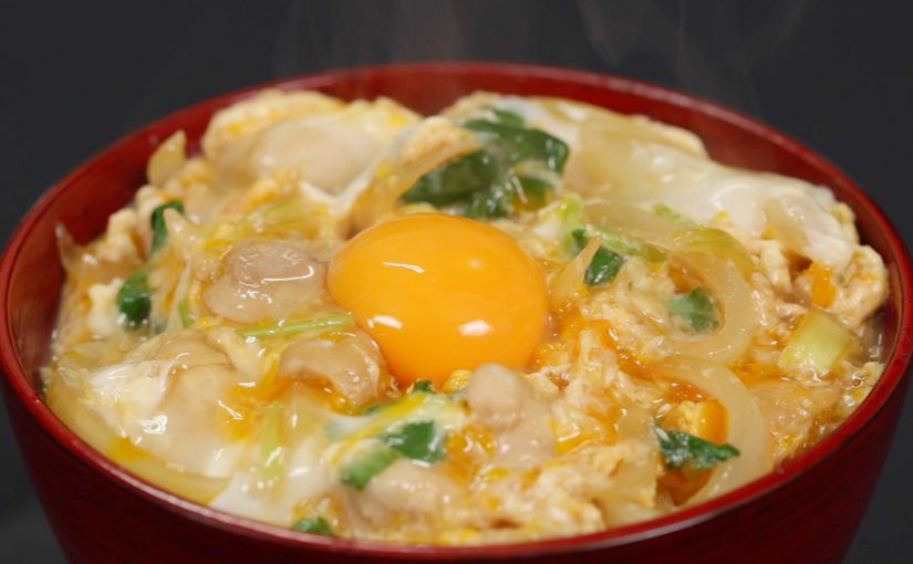 Oyakodon Recipe (Chicken and Egg Bowl with Soft and Silky Texture Topped with Extra Egg Yolk)