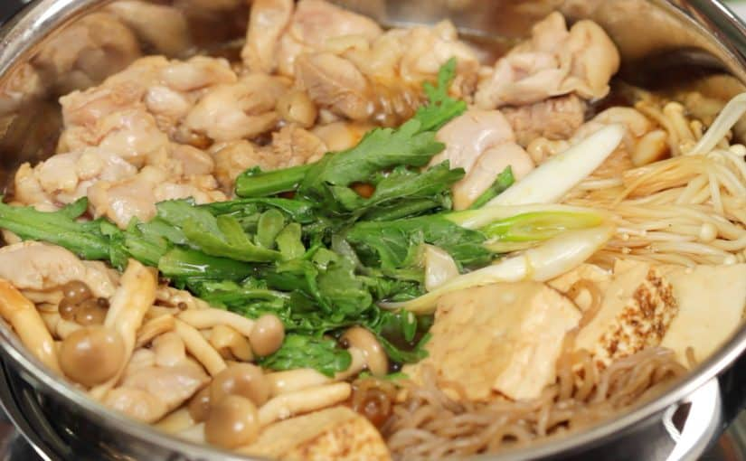 Torisuki (Chicken Sukiyaki Recipe)