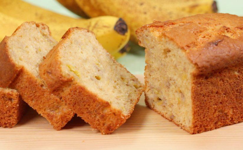 バナナケーキ しっとり濃厚な作り方 レシピ