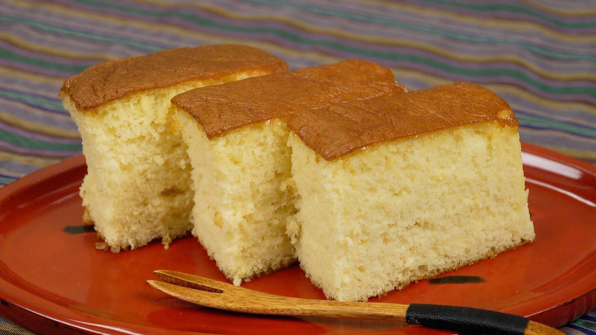Jiggly Castella Cake Recipe