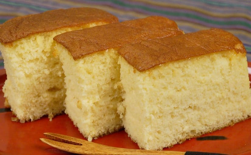 The Best Castella Recipe Moist And Gooey Kasutera Sponge Cake Cooking With Dog
