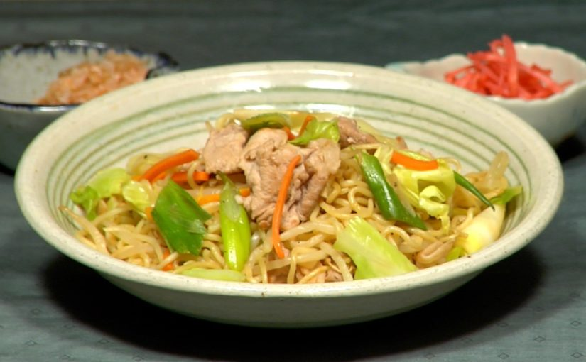 Yakisoba Noodles Recipe