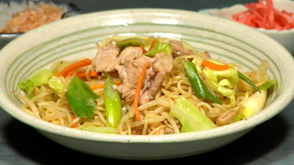 Yakisoba Noodles Recipe