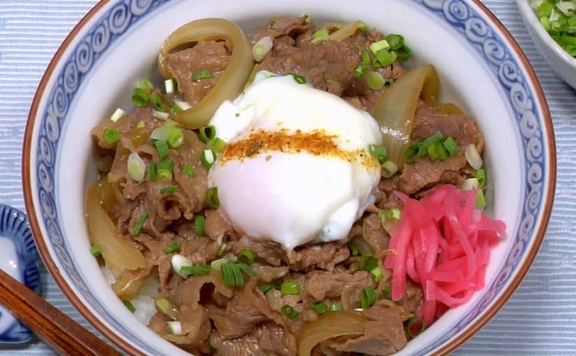 Gyudon (Beef Bowl Recipe)
