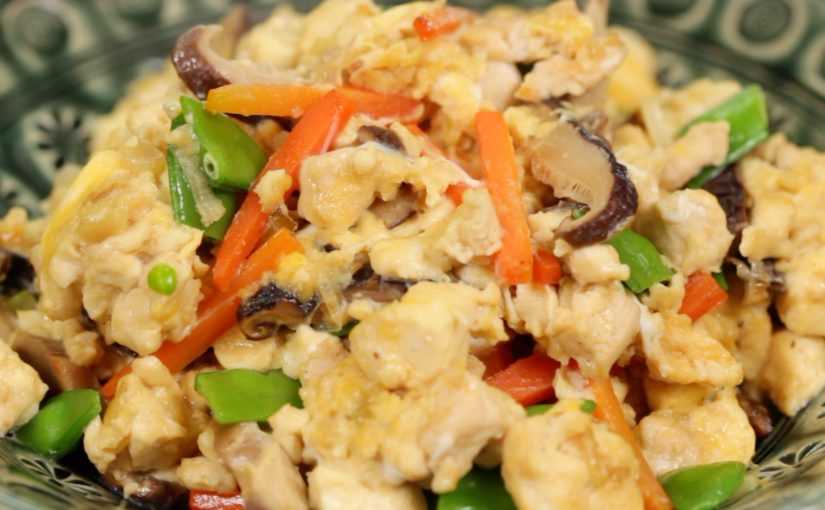 Iri Dofu Recipe (Scrambled Tofu)
