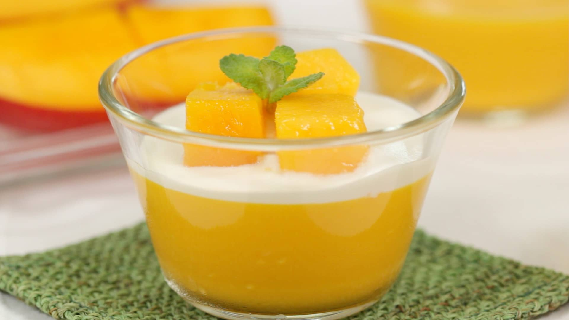 Mango Pudding Recipe Scrumptious Summer Dessert Cooking With Dog