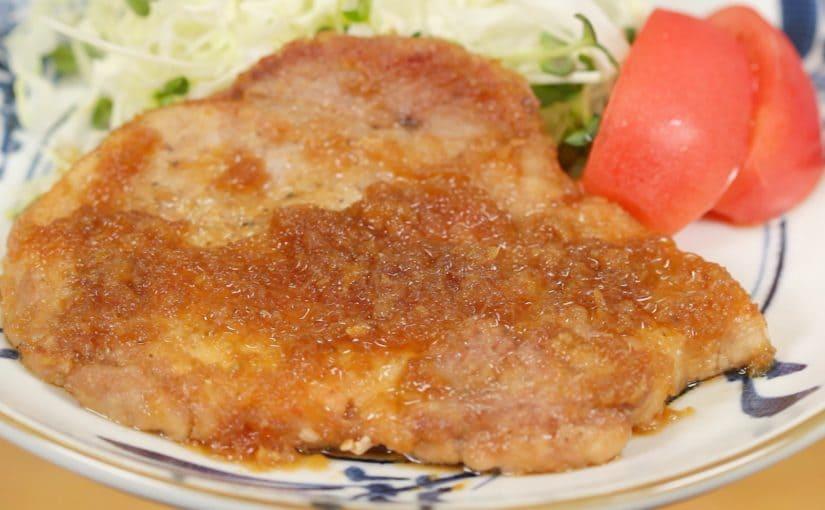 厚切り豚肉の生姜焼きの作り方 レシピ