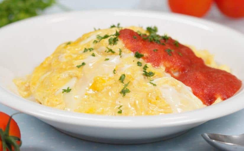 Soft-Cooked Omurice Recipe