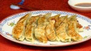 Yaki Gyoza Recept (Stekta Dumplings)