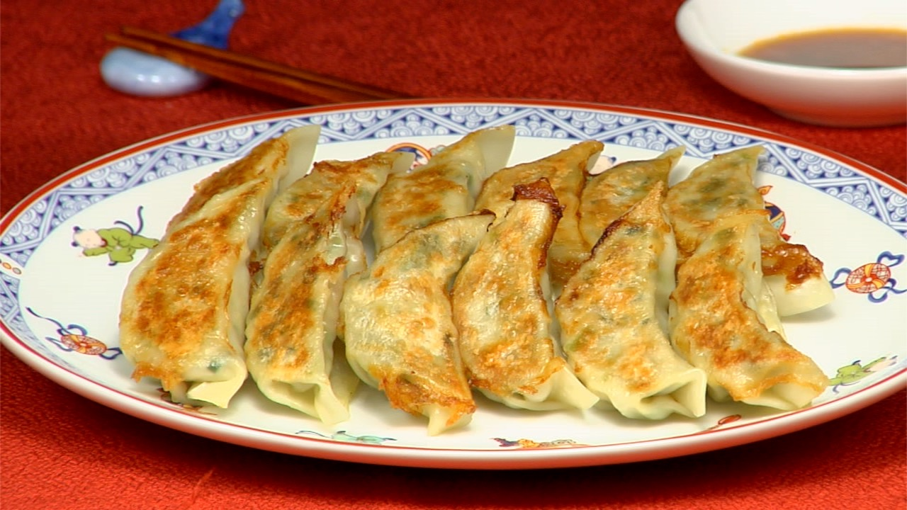 Yaki Gyoza Recipe Fried Dumplings Cooking With Dog