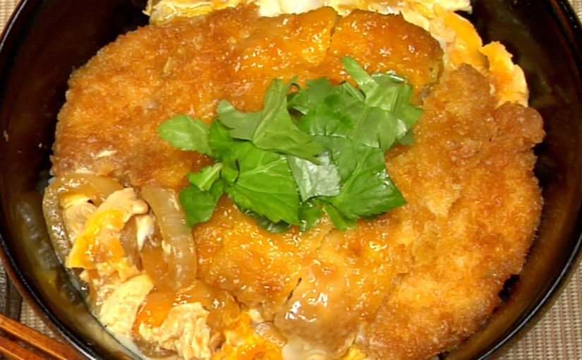 Katsudon (Deep-Fried Pork Cutlet Bowl Recipe)