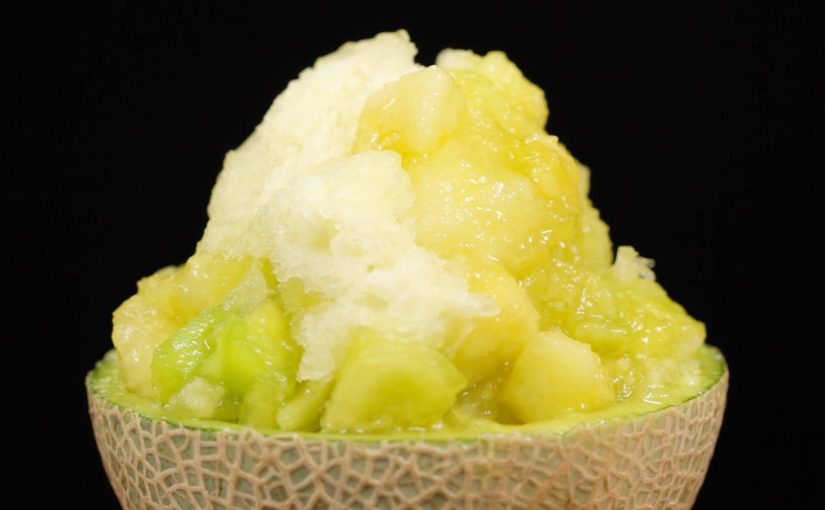 The Ultimate Melon Kakigori (Shaved Ice Recipe)