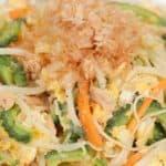 Somen Chanpuru Recipe (Vegetable and Noodle Stir-Fry)