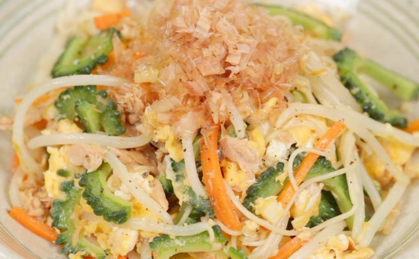 Somen Chanpuru (Vegetable and Noodle Stir-Fry Recipe)