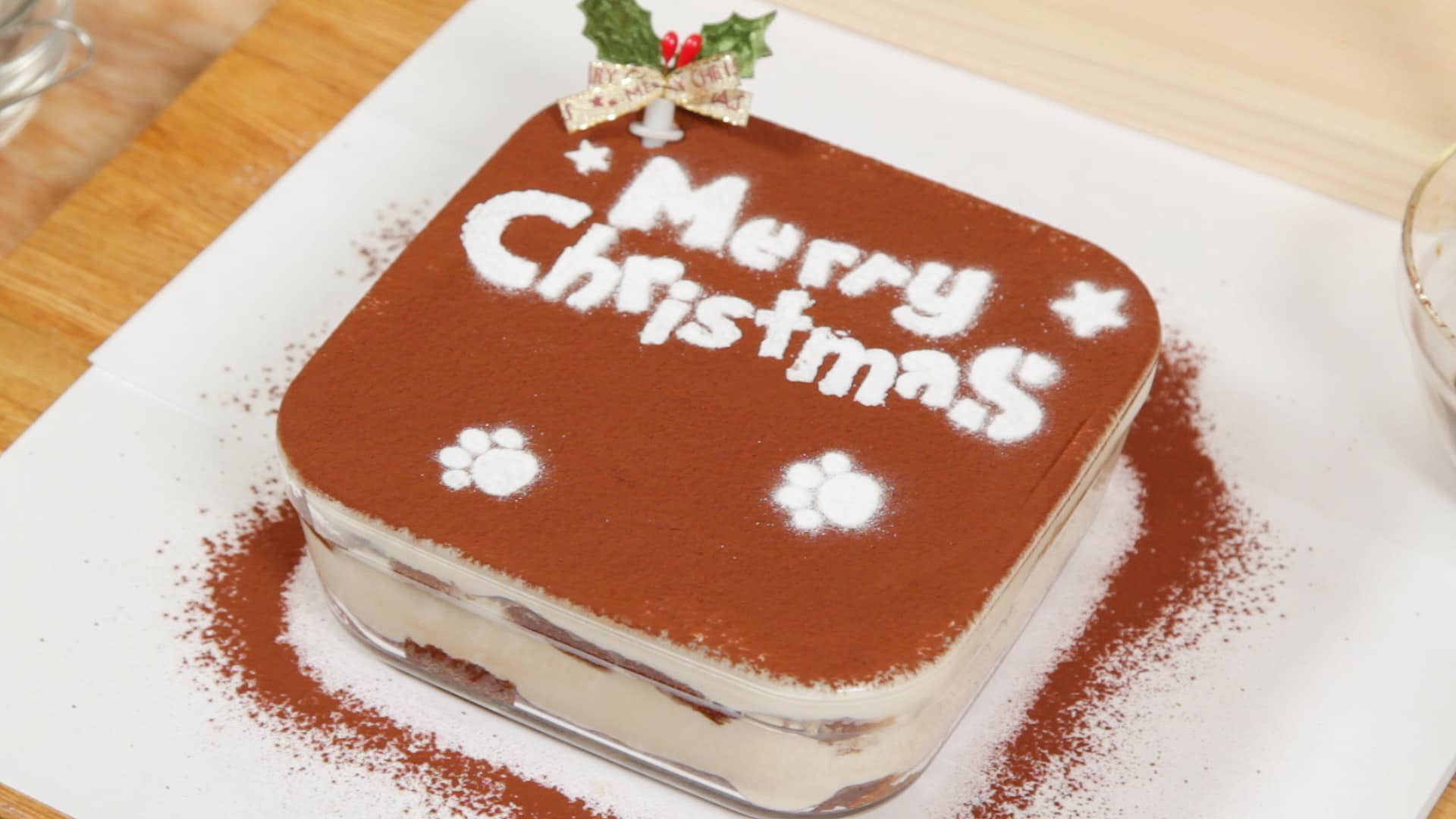 Dog Christmas Cake Recipe