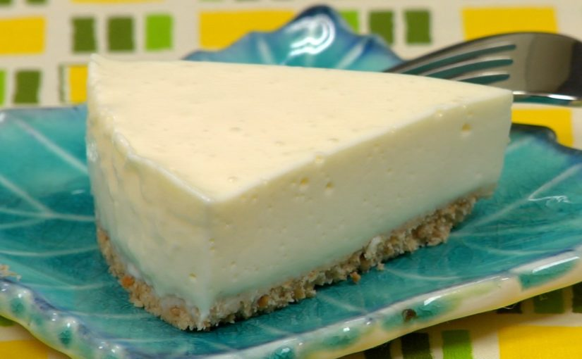 Tofu Rare Cheesecake Recipe (No-Bake Cheesecake)