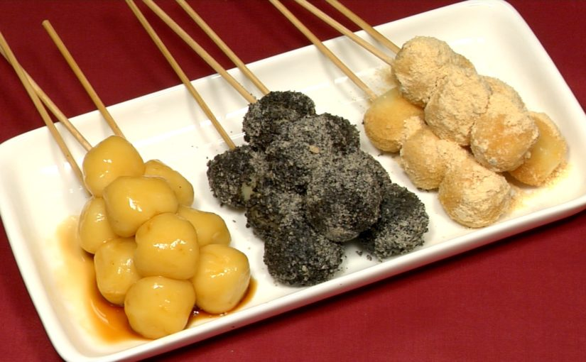 Tofu Dango (Japanese Sweet Dumpling Dessert Recipe)