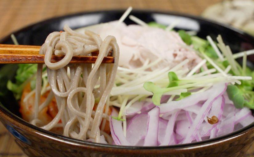 Cold Pork Soba Noodles Recipe