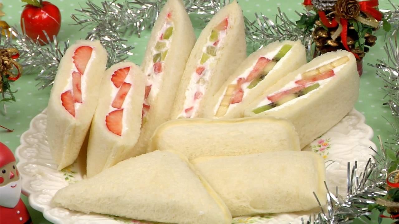 Fruit Sandwiches Recipe