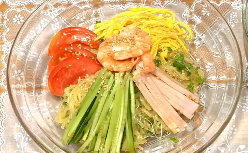 Hiyashi Chuka (Summer Noodles Recipe)