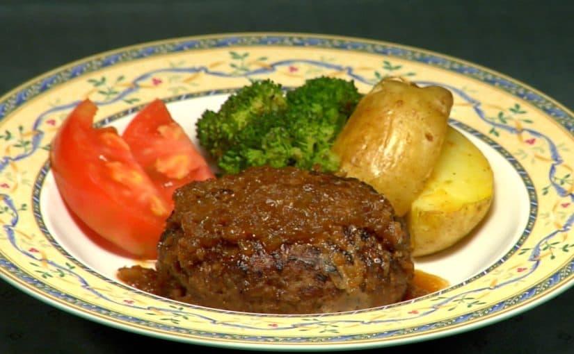 ハンバーグステーキの作り方 レシピ