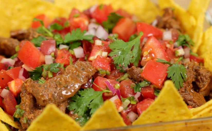 Taco Salad Recipe (Spicy Salsa and Taco Meat)