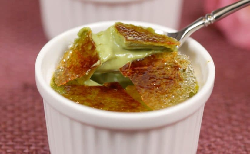 Matcha Creme Brulee Recipe (Green Tea Dessert)