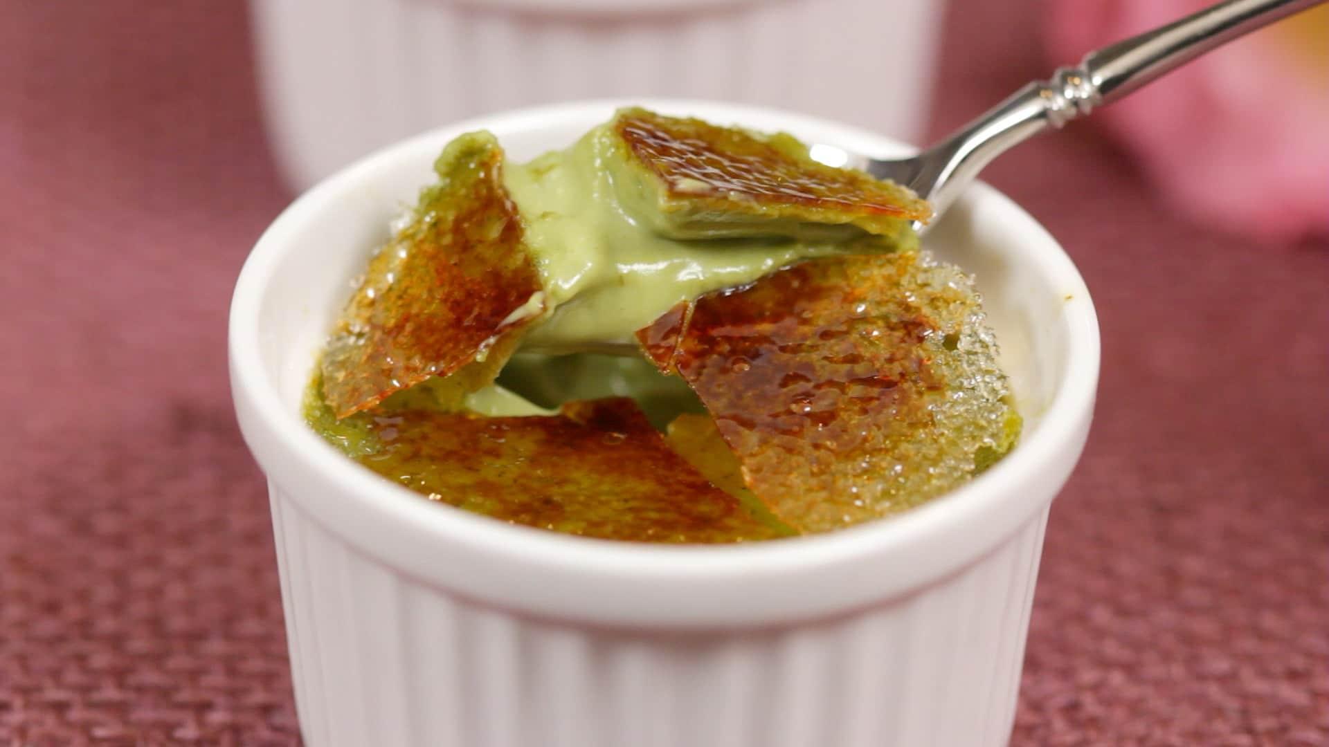 Matcha Creme Brulee Recipe Green Tea Creme Brulee Dessert
