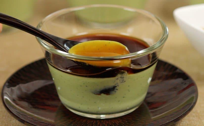 抹茶のパンナコッタの作り方 レシピ