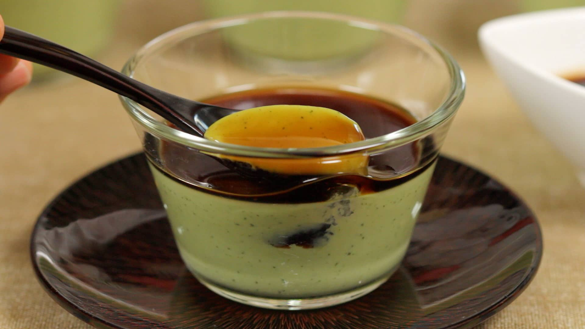 matcha panna cotta recipe green tea dessert cooking with dog. Black Bedroom Furniture Sets. Home Design Ideas