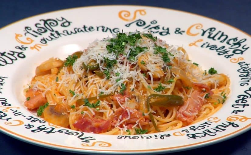 スパゲティナポリタンの作り方 レシピ