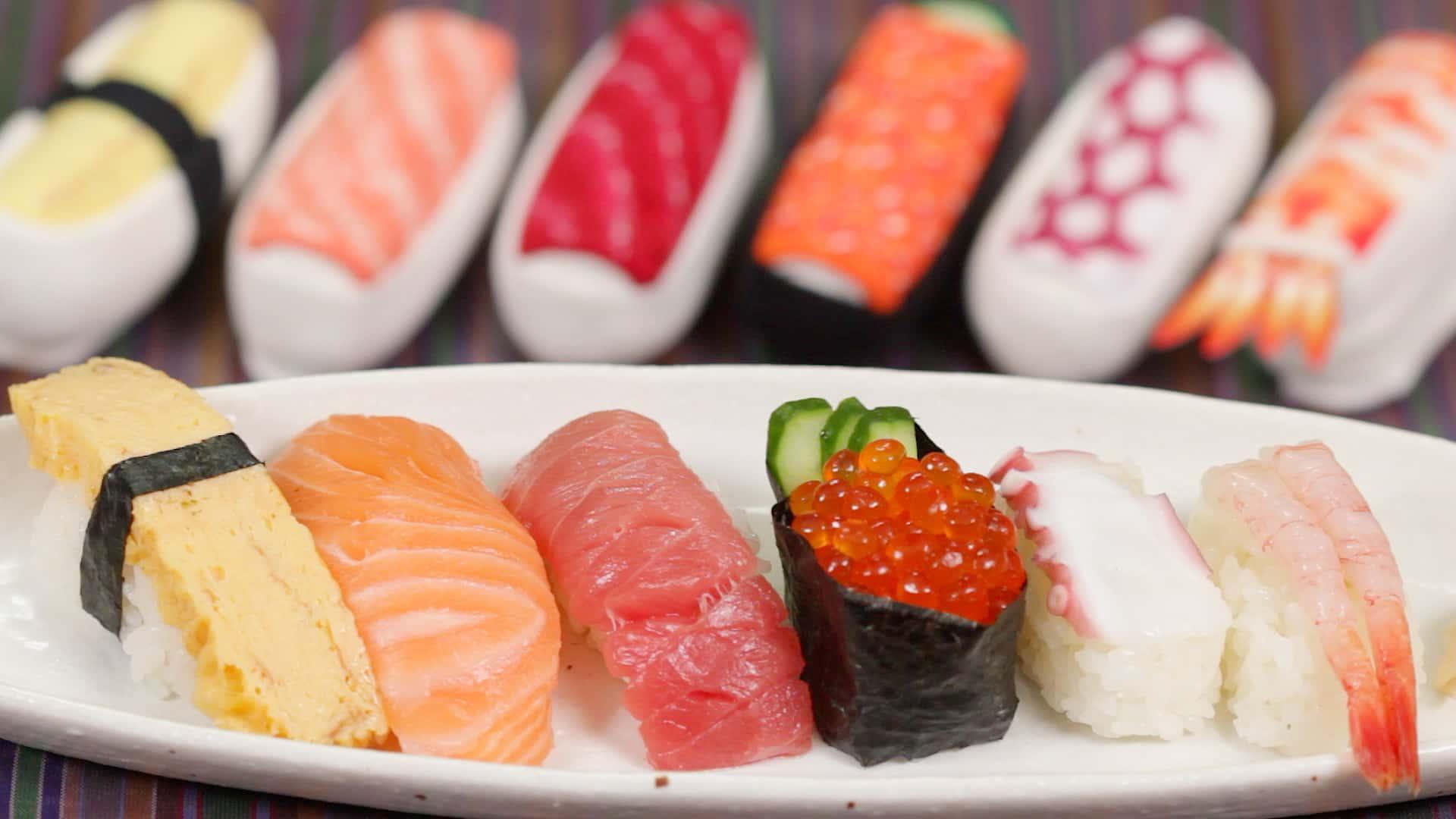 Công thức cơm cuộn (Sushi) Nigiri (Nigirizushi) | Cooking with Dog