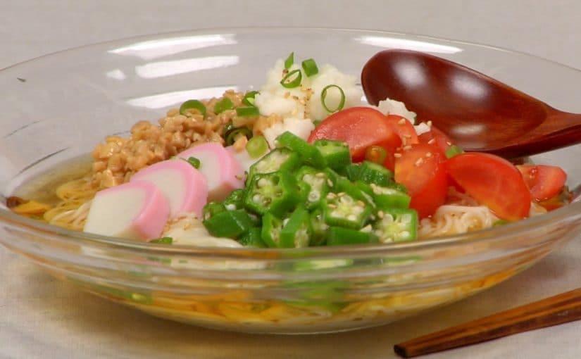 Summer Somen Noodles Recipe (Cold Summer Noodles)
