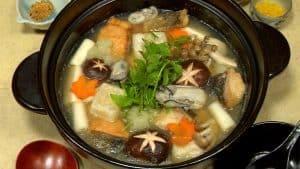 Mizore Nabe Recipe (Winter Hot Pot with Grated Daikon Radish)