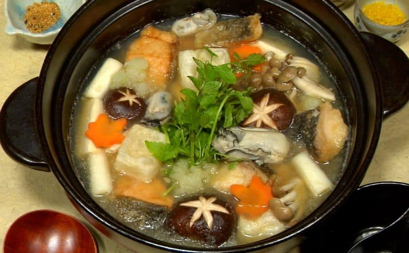 Mizore Nabe Recipe (Winter Hot Pot with Grated Daikon Radish)