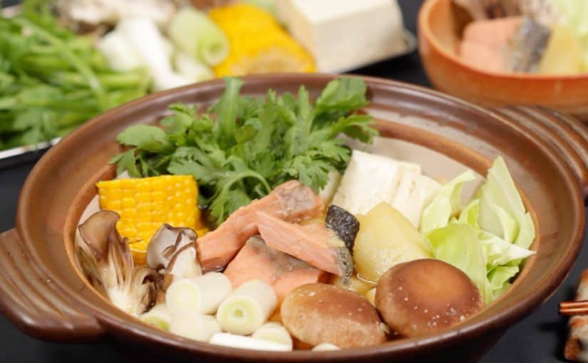 Ishikari Nabe Recipe (Salmon and Miso Hot Pot in Hokkaido)
