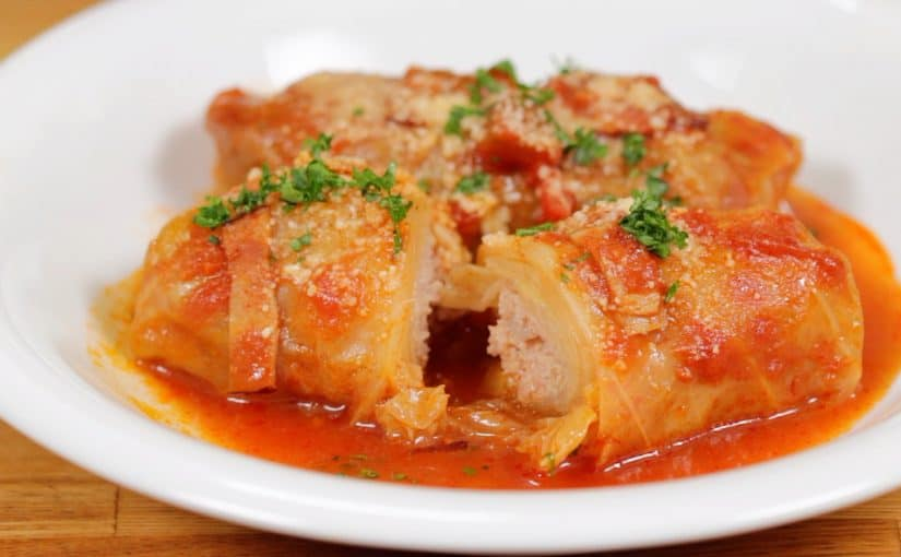 Cabbage Rolls Recipe (Tender Cabbage Stuffed with Juicy Ground Meat Filling)