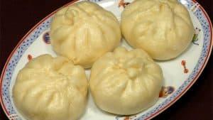 Nikuman Recept (Ångade Fläskbullar i Kinesisk-stil)