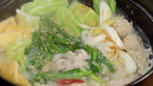 Shio Chanko Nabe and Shio Butter Ramen Recipe (Sumo Wrestler Hot Pot and Must-Taste Ramen Noodles)