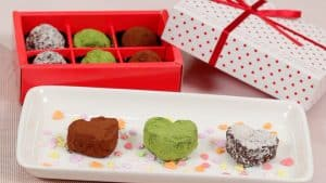 Chocolate Rum Raisin Walnut Valentines Recipe