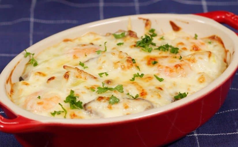 シーフードドリアの作り方 旨味たっぷりクリーミーで濃厚なレシピ