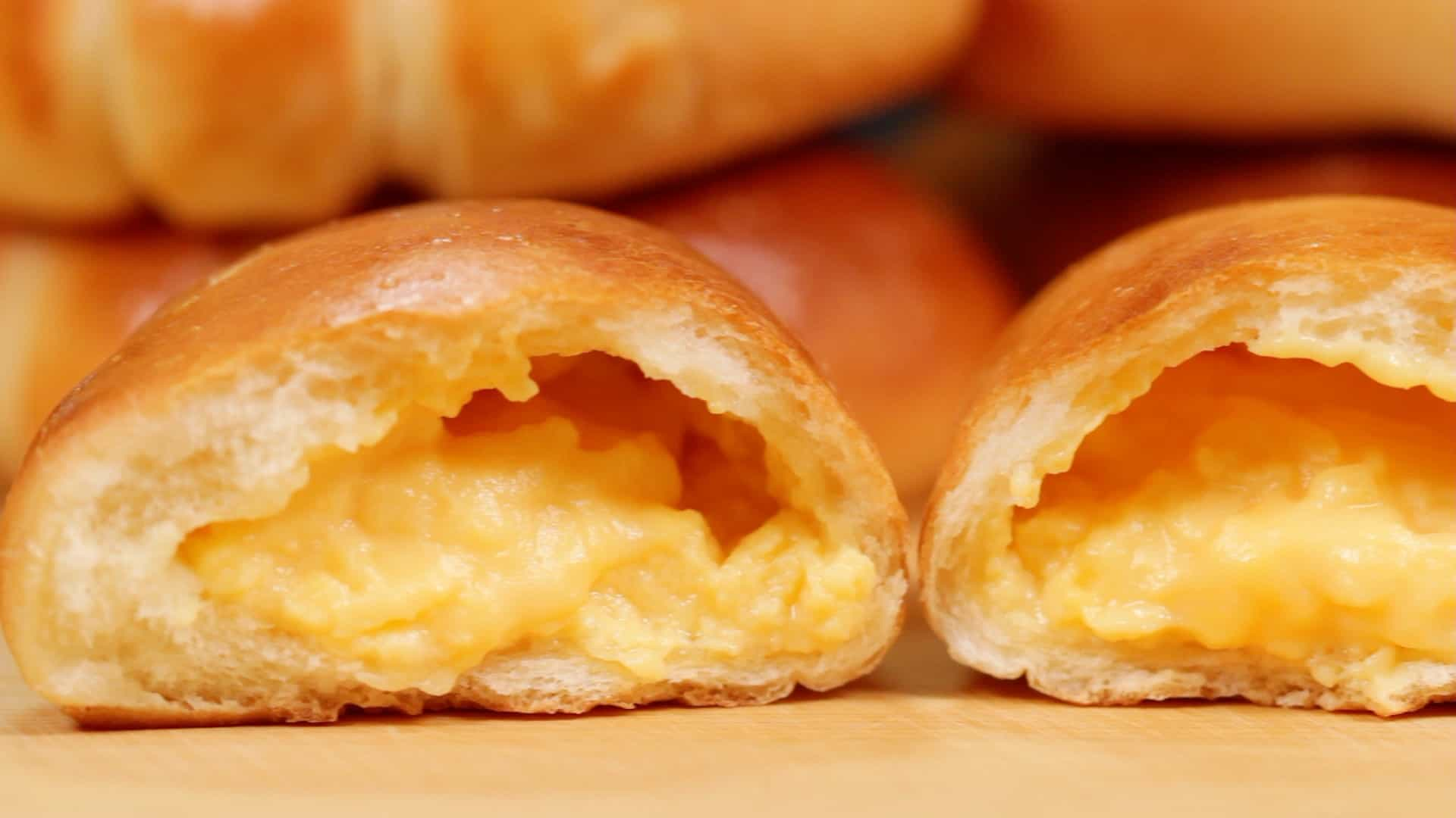 The Best Cream Pan With Custard Filling Recipe Japanese Sweet Buns Filled With Exquisite Pastry Cream Cooking With Dog