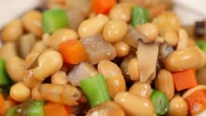 Gomoku-mame Recipe (Simmered Soybeans with Vegetables and Shrimp)